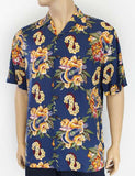 Hawaiian Shirt With Aloha Ukulele Leis Prints