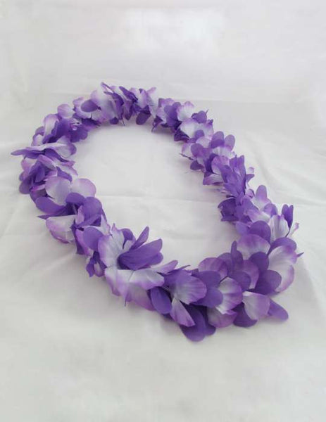 Lavender Fun Party Flower Lei
