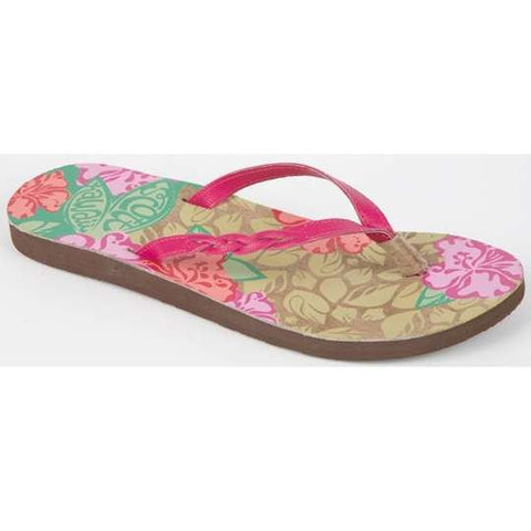 Keanui Women Beach Flip Flops Scott Hawaii