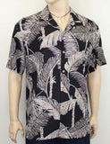 Rayon Mens Shirt - Tree Tops Tropical