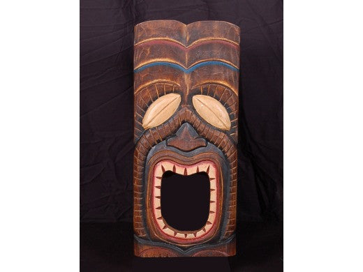 "Tiki Mask 20"" Wall Plaque - Art Decor"
