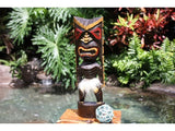 "Big Chief Tiki God 16"" - Hand Carved - Hawaii Treasure"