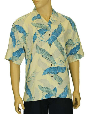 Aloha Silk Men Resort Kihei Shirt