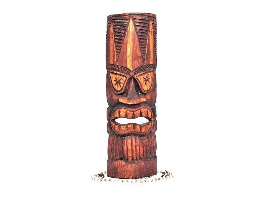 Money Tiki Mask Kane - Hand Carved