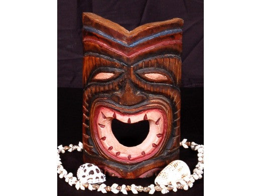 "Laughing Tiki Mask 8"" - Happy Tiki Idol"