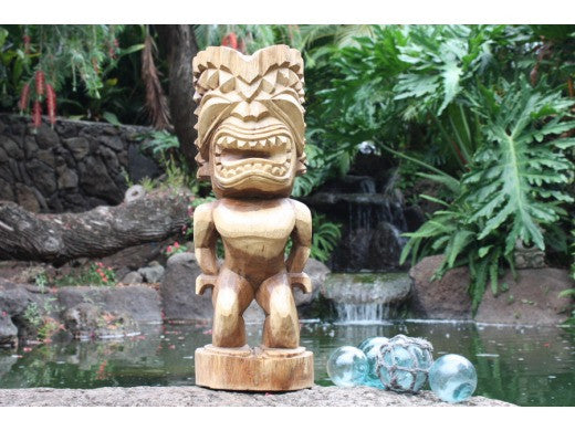 "Ku Tiki 20"" - Traditional Hawaii Museum Replica"