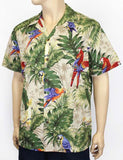 The Buff Parrots Tropical Men's Shirt