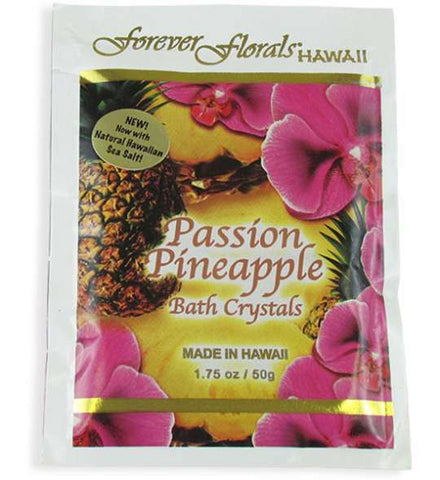 Passion Pineapple Tropical Scented Bath Crystals