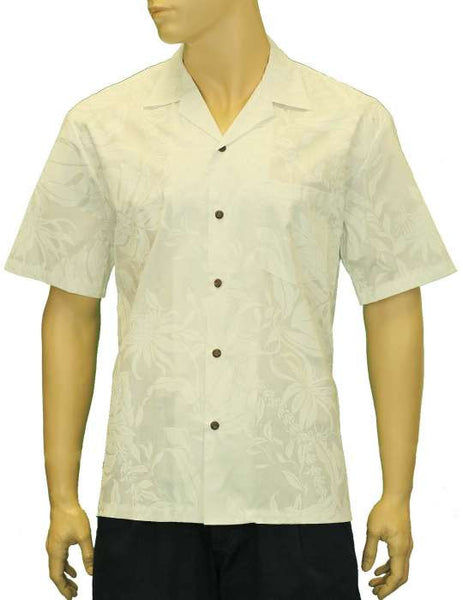 Wedding Tropical White Makapu Shirt