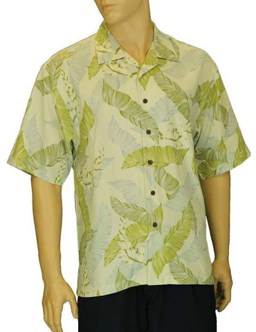 Silk Tropical Men's Shirt Kihei Design