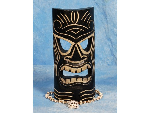 "Strength Tiki Mask 12"" - Hawaiian Decor"