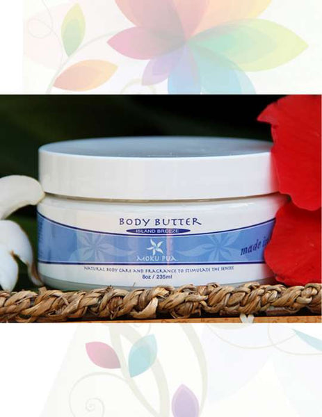 Facial & Body Butter by Moku Pua Hawaii - 8oz Large