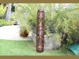 "Fijian Tiki Mask - 40"" Love & Prosperity - Hand Carved"