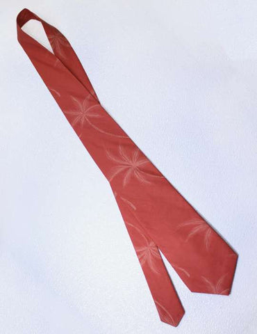 Loulu Palms Aloha Orange Necktie