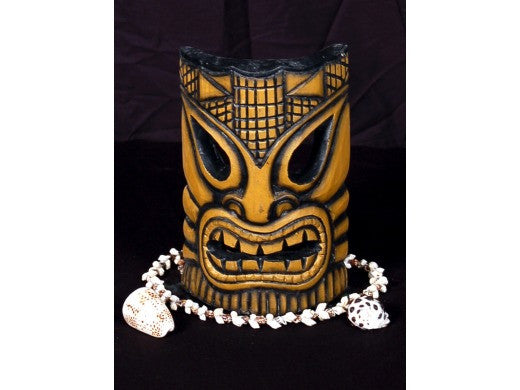 "Big Kahuna Tiki Mask 8"" - Tropical Decor"