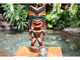 "Love Tiki God 12"" - Hand Carved - Hawaii Treasure"
