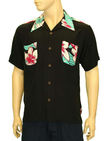 Maiden Original Vintage Silk Black Hawaii Shirt