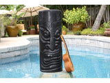 "Big Chief Tiki Totem 20"" - Hand Carved"