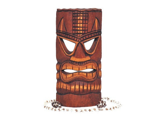 "Carved Tiki Mask 12"" - Love Tiki"
