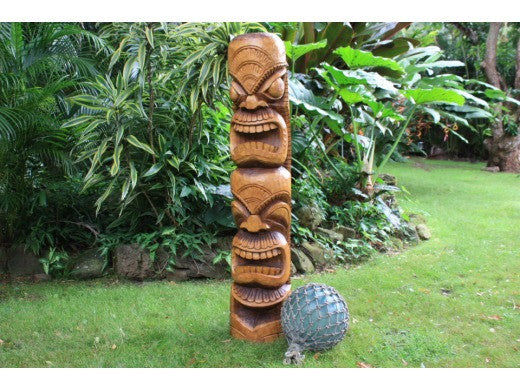 Ultimate Prosperity & Love Tiki 60in X 11in | Totem Pole