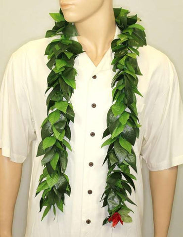 Wedding Deluxe Silk Maile Lei Open-Ended 60 Inch