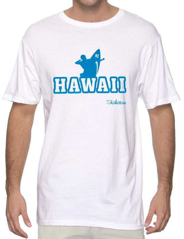 Hawaii Surfer Beach Men Tshirt