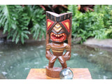 "Big Kahuna Tiki 12"" - Hand Painted Finish - Tiki Trophies"