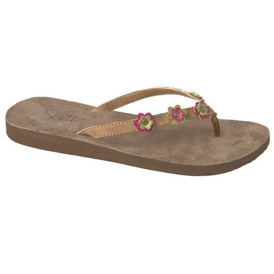 Suede Women's Beach Sandal Oniu Scott Hawaii
