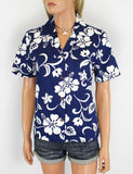 Women's Hawaiian Shirt Hibiscus - Kaneohe