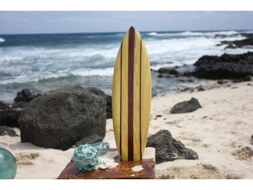 "Classic Stringer Surfboard 20"" - Surf Decor Hawaii - Trophy"