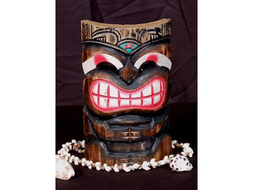 "Smiley Tiki Mask 8"" - Pop Art Tiki"