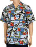 Tropical Aloha Shirt - Pacific Warplanes