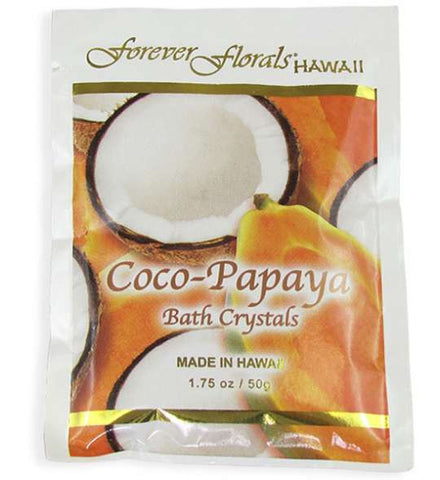 Coco-Papaya Scented Bath Crystals