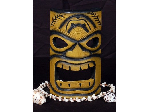 "Smokin' Tiki Mask 8"" - Pool Decor"