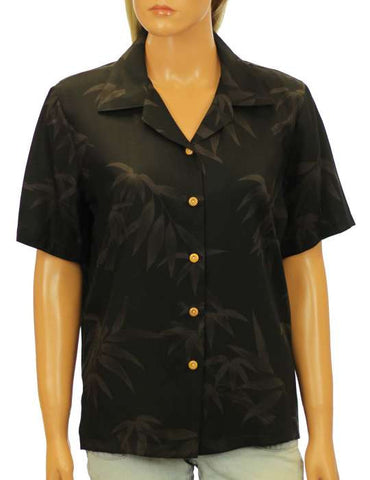 Bamboo Camp - Women's Hawaiian Rayon Aloha Blouse