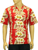 Cotton Hawaii Aloha Shirt - Pacific Panel