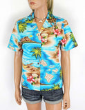 Hawaiian Island Design Shirt for Women - Polynesian Flavor
