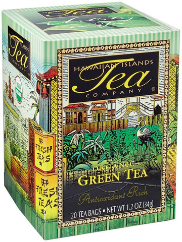 Hawaiian Tea - Certified Organic - Green Tea