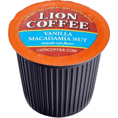 LION Hawaiian Coffee - Single Cups Vanilla Macadamia