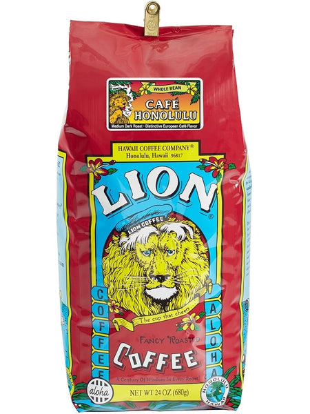 LION Hawaiian Coffee - Cafe Honolulu - 24oz