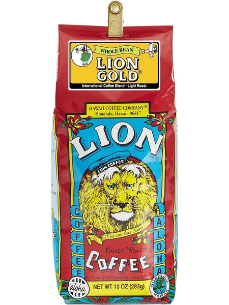 LION Hawaiian Coffee - Gold - 10oz