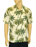 Rayon Hawaiian Shirt - Coconut Island