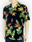 Rayon Men's Hawaiian Shirt - Birds of Paradise