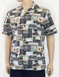 Men's Cruising Aloha Poly Cotton Shirt