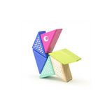 Tegu Travel Pals - Hummingbird Magnetic Wooden Blocks