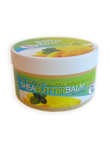 CJ's BUTTer® Shea Butter Balm: 6oz Pot