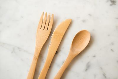 Mariposah Bamboo Travel Utensils - FINAL SALE