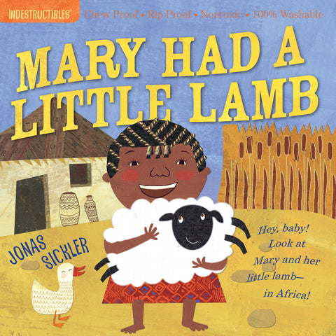 Indestructibles Book - Mary Had a Little Lamb