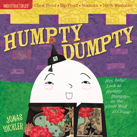 Indestructibles Book - Humpty Dumpty