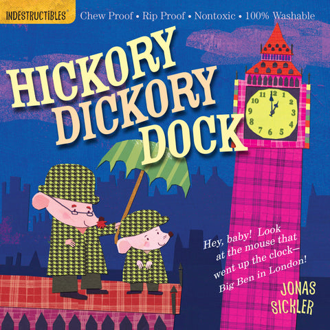 Indestructibles Book - Hickory Dickory Dock